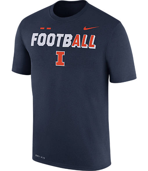 Men's Nike Illinois Fighting Illini College All Sideline T-Shirt