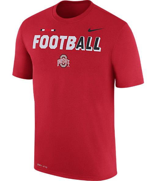Men's Nike Ohio State Buckeyes College All Sideline T-Shirt