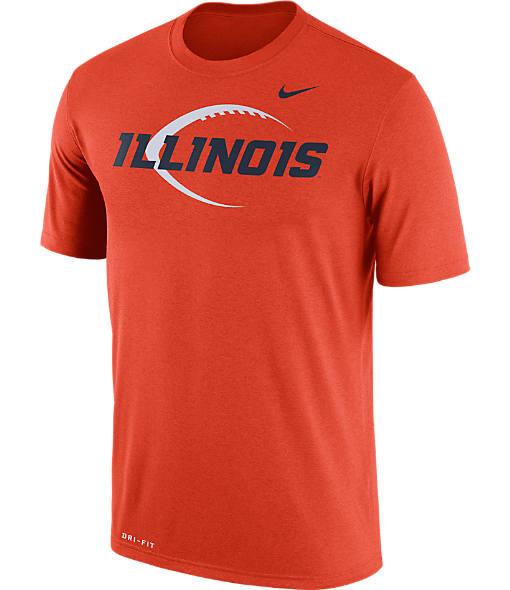 Men's Nike Illinois Fighting Illini College Legend Icon T-Shirt