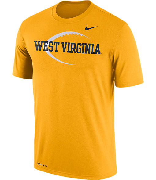 Men's Nike West Virginia Mountaineers College Legend Icon T-Shirt
