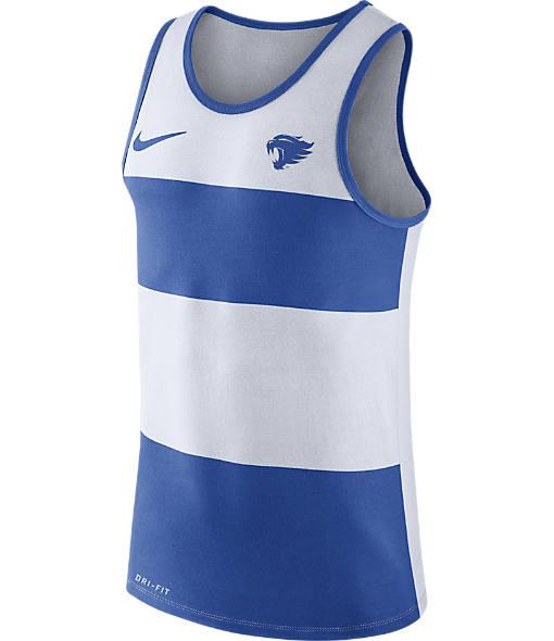 Men's Nike Kentucky Wildcats College Wide Stripe Tank
