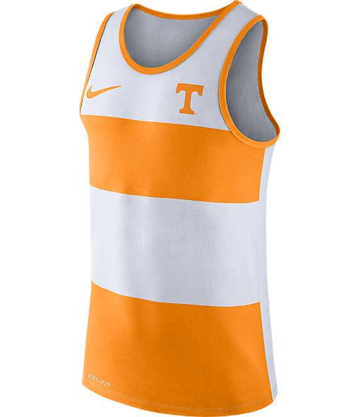 Men's Nike Tennessee Volunteers College Wide Stripe Tank