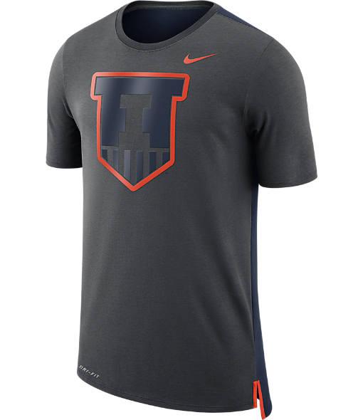 Men's Nike Illinois Fighting Illini College Team Travel T-Shirt