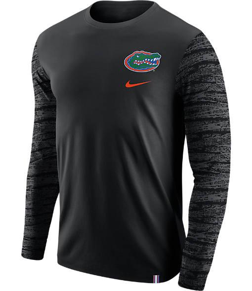 Men's Nike Florida Gators College Enzyme Pattern Long-Sleeve Shirt