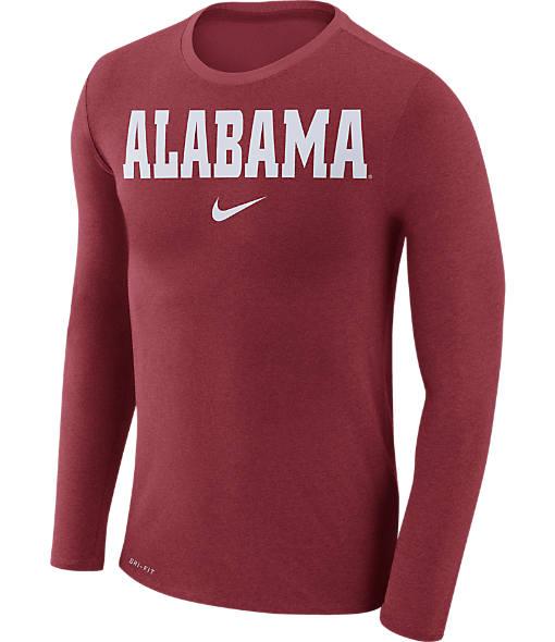 Men's Nike Alabama Crimson Tide College Long-Sleeve Marled T-Shirt