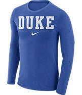 Men's Nike Duke Blue Devils College Long-Sleeve Marled T-Shirt