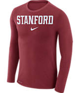 Men's Nike Stanford Cardinals College Long-Sleeve Marled T-Shirt