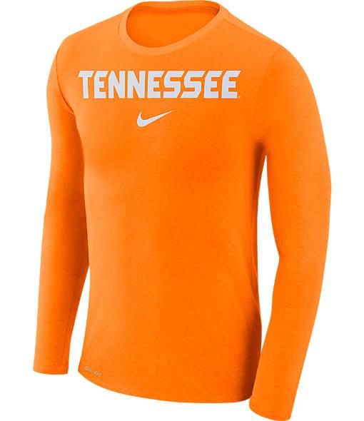 Men's Nike Tennessee Volunteers College Long-Sleeve Marled T-Shirt
