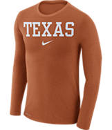 Men's Nike Texas Longhorns College Long-Sleeve Marled T-Shirt