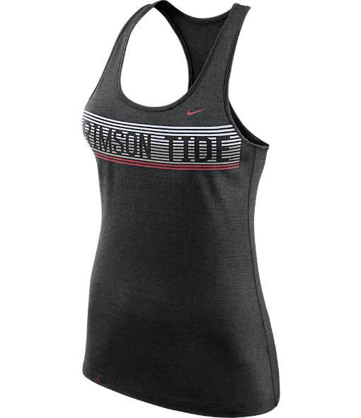 Women's Nike Alabama Crimson Tide College Dry Racerback Tank
