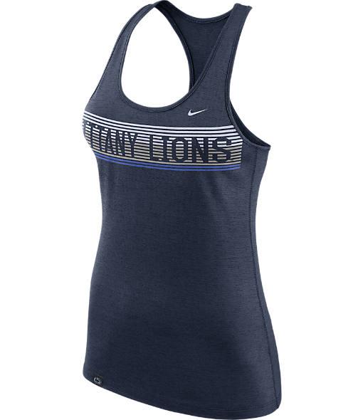 Women's Nike Penn State Nittany Lions College Dry Racerback Tank