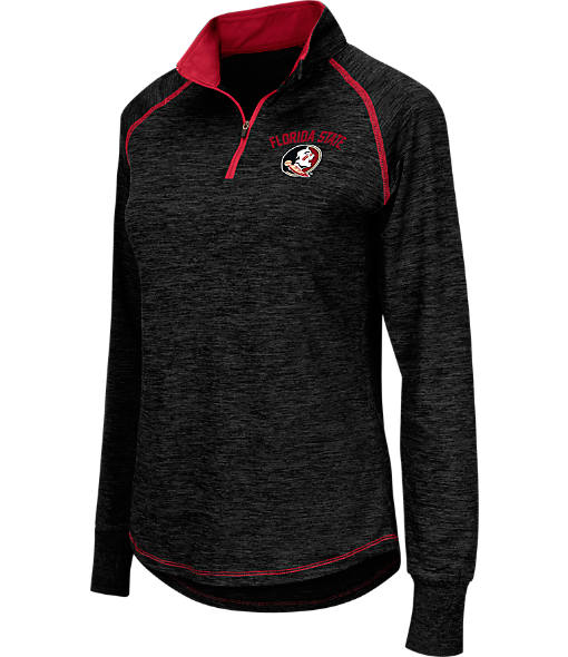 Women's Stadium Florida State Seminoles College Bikram Quarter-Zip Jacket