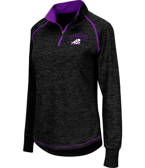 Women's Stadium TCU Horned Frogs College Bikram Quarter-Zip Pullover