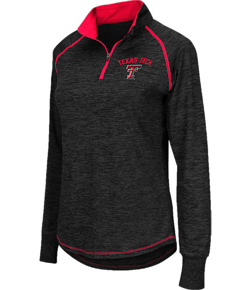 Women's Stadium Texas Tech Red Raiders College Bikram Quarter-Zip Pullover