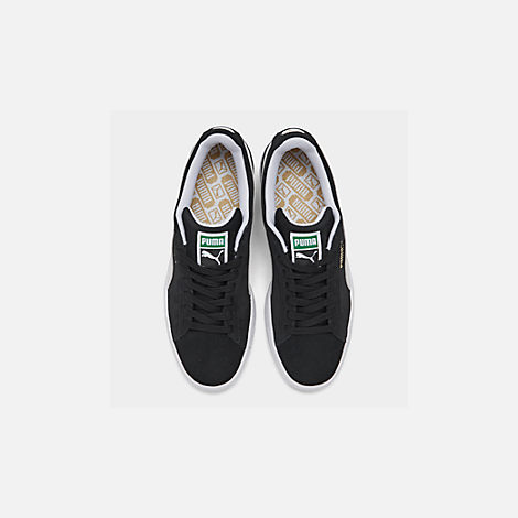 Back view of Men's Puma Suede Classic Casual Shoes in