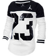Girls' Jordan Big 23 Block T-Shirt