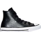 Girls' Preschool Converse Chuck Taylor All Star Hi Metallic Leather Casual Shoes