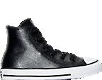 Girls' Preschool Converse Chuck Taylor All Star Hi Metallic Leather Casual Shoes