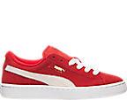 Boys' Grade School Puma Suede Jr. Casual Shoes