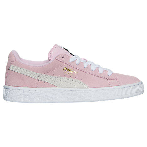 Girls' Grade School Puma Suede Casual Shoes