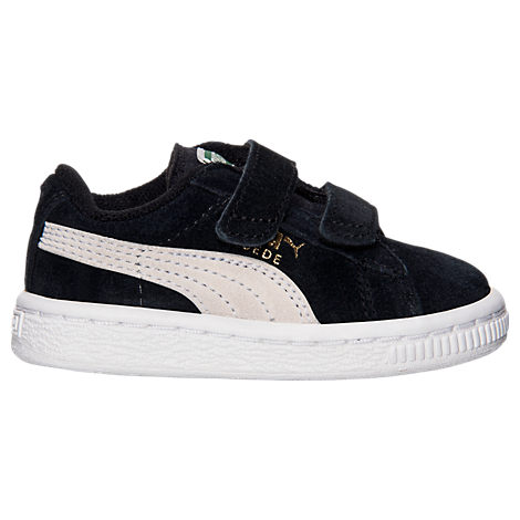 Boys' Toddler Puma Suede 2 Straps Casual Shoes