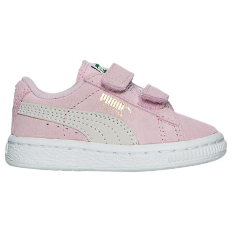 Girls' Toddler Puma Suede Hook-and-Loop Closure Casual Shoes