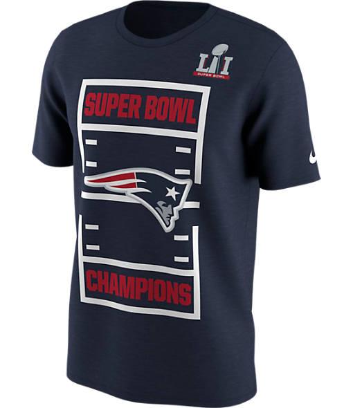 Men's Nike New England Patriots NFL Super Bowl 51 Roster T-Shirt