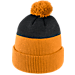 Back view of Nike Tennessee Volunteers College New Day Beanie in Orange