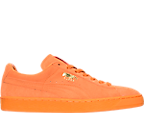 Men's Puma Suede Emboss Iced Classic Casual Shoes
