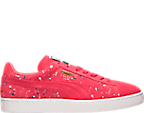 Men's Puma Suede Classic Splatter Casual Shoes