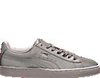 Men's Puma Basket Reflective Casual Shoes