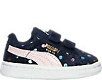 Girls' Toddler Puma Suede Dotfetti AC Casual Shoes