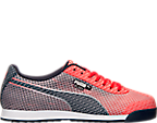 Men's Puma Roma Woven Mesh Casual Shoes