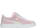 Girls' Preschool Puma Suede Casual Shoes