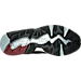 Bottom view of Men's Puma R698 Casual Shoes in Black/Burgundy/Grey/White