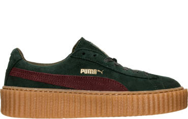 WOMEN'S PUMA SUEDE CREEPER