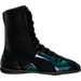 Right view of Women's Puma Eskiva Hi Deep Summer Casual Shoes in Black/Black