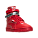 Three Quarter view of Women's Puma Sky II Hi Future Minimal Casual Shoes in Barbados Cherry
