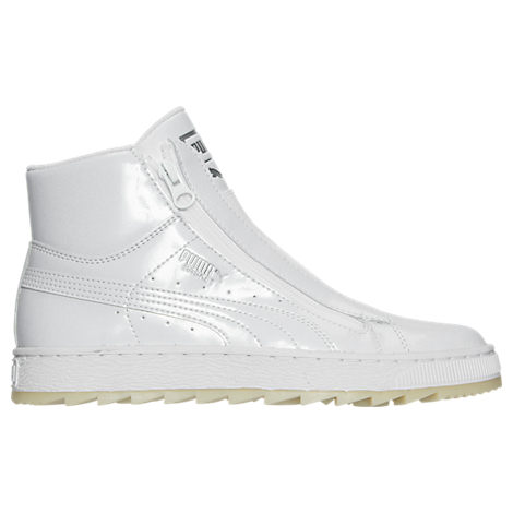 Women's Puma Basket Winter Mid Casual Shoes
