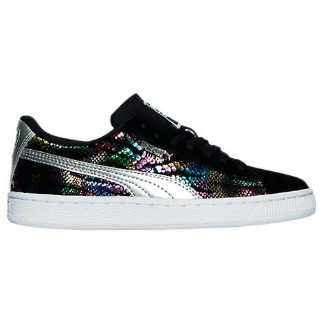 Girls' Grade School Puma Suede Sportlux Jr. Casual Shoes