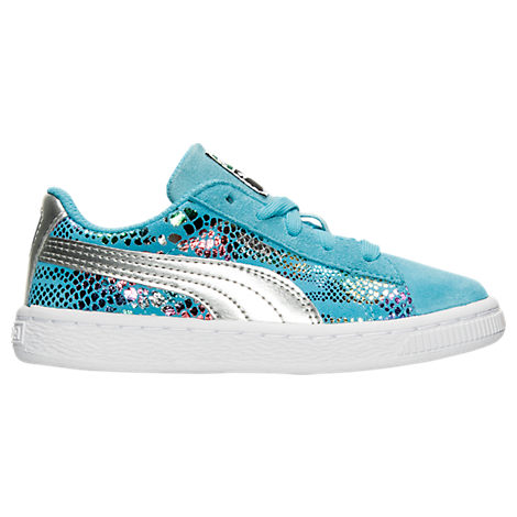 Girls' Toddler Puma Suede Sportlux Jr Casual Shoes