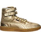 Women's Puma Sky II Hi Metallic Casual Shoes