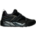 Right view of Men's Puma Blaze Of Glory Woven Casual Shoes in Black/Black
