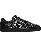 Men's Puma Suede Splatter Metallic Casual Shoes