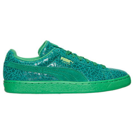 Men's Puma Suede Crackle Casual Shoes