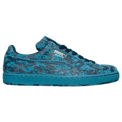 Men's Puma Suede Camo Casual Shoes