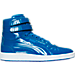 Right view of Men's Puma Sky II Hi Patent Emboss Casual Shoes in ROY