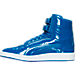 Left view of Men's Puma Sky II Hi Patent Emboss Casual Shoes in ROY