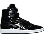 Men's Puma Sky II Hi Patent Emboss Casual Shoes