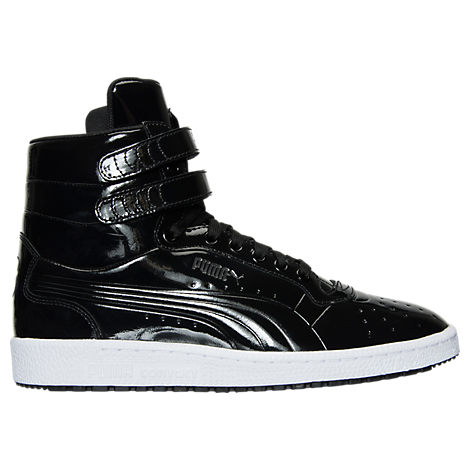Men's Puma Sky II Hi Patent Emboss Casual Shoes